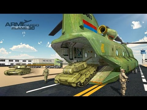US Army Transport Simulator 3D (by Gamerz Studio Inc) Android Gameplay [HD]