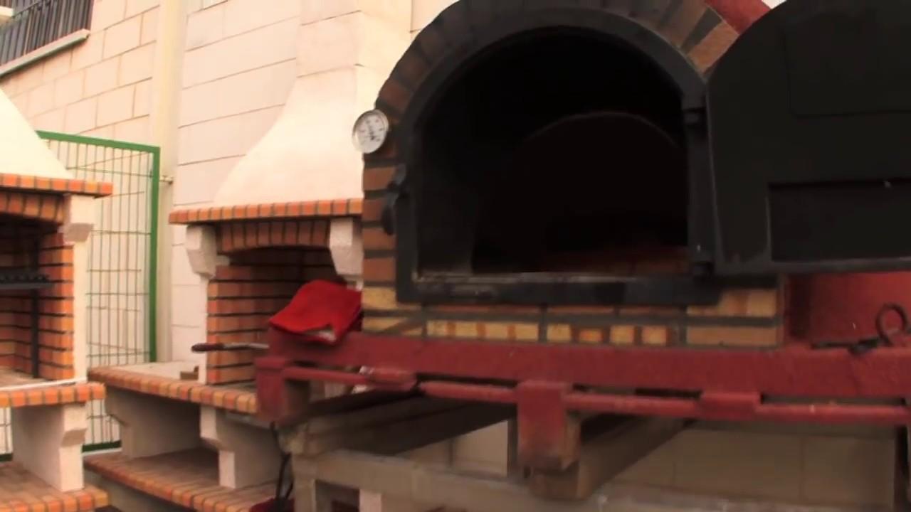 Pierna de cordero en horno de le a youtube - Termometros para hornos de lena ...