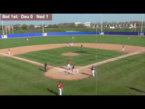 Germany vs. Netherlands MLB Academy: COMPLETE GAME