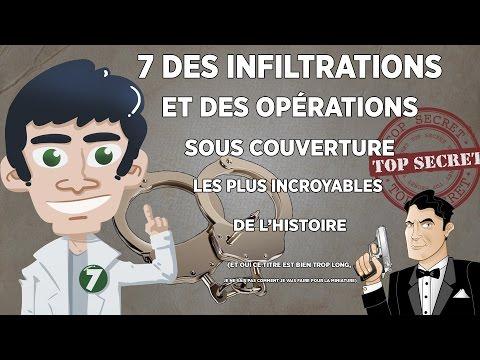 7 des infiltrations et des opérations sous couverture les plus incroyables de lhistoire