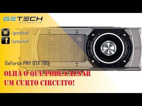 Reparo GeForce Zotac GTX 780 - Vídeo técnico, curto na placa, como encontrei!
