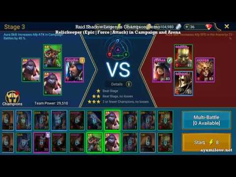 Raid Shadow Legends Relickeeper Skill Mastery Equip Guide | AyumiLove