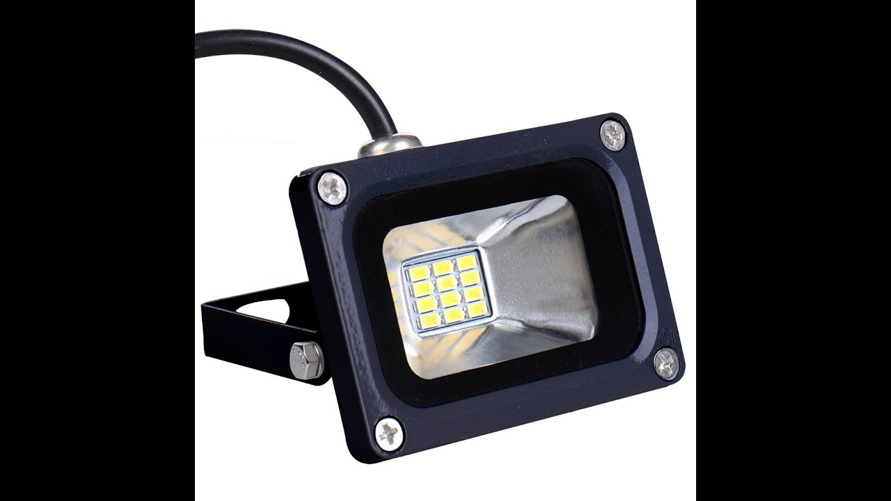 10w Led Floodlight (7W ONLY)   YouTube