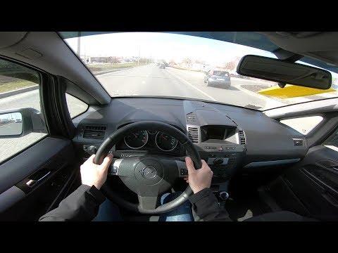 2008 Opel Zafira 1.8 (140) POV TEST DRIVE