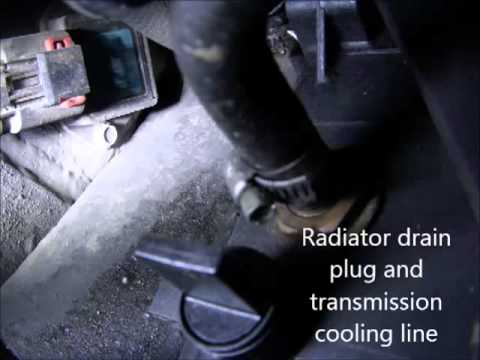 1999 Dodge Caravan Awd 3 8l Radiator Fan Relay Replacement For Overheating Engine Youtube