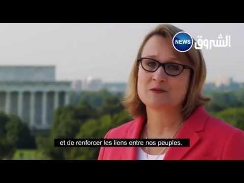 Economia Algérie Joan Polaschik  Ambassadeur des Etats Unis d'Amérique www.lepointeco.com