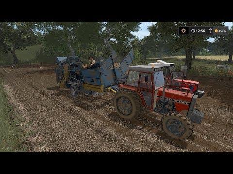Potato harvest | Small Farm | Farming Simulator 2017 | Episode 10