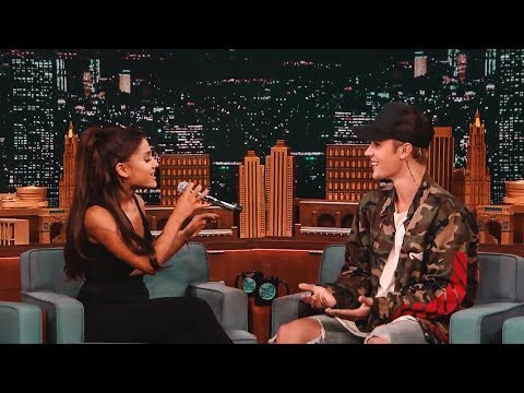Justin Bieber gets impressed with Ariana Grande