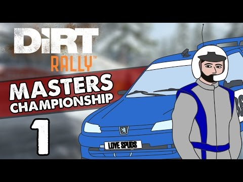 DiRT Rally [Masters Championship Part 1] - Monte Carlo Stages 1-3