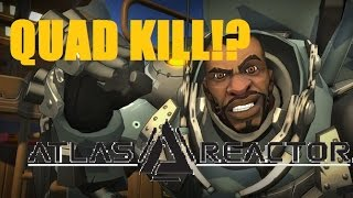 Unexpected Quad-Kills are the Best Kind | Atlas Reactor | Game Jumping Live
