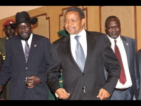 President Salva Kiir, Machar Sign SPLM Reunification Agreement in Tanzania