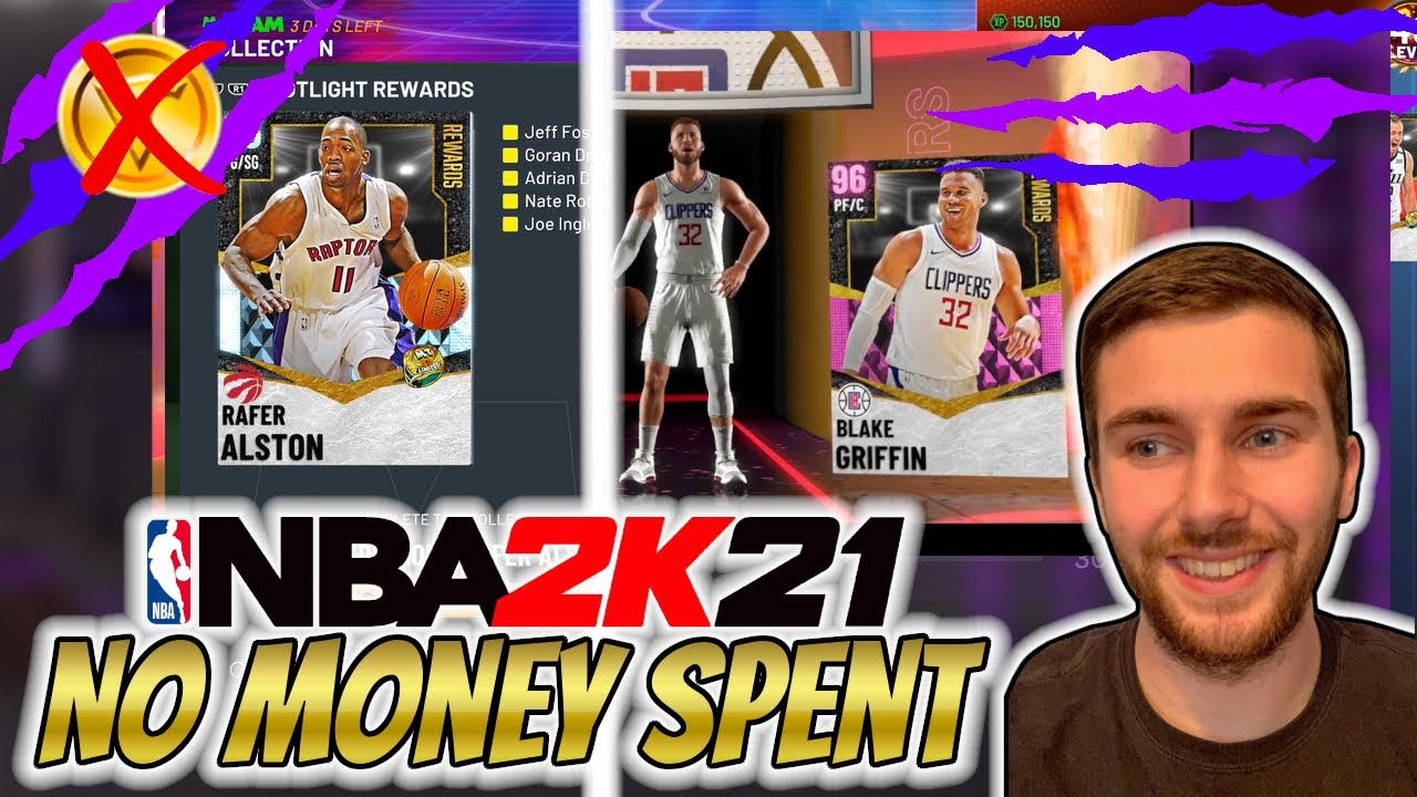 NBA 2K21 MYTEAM WE GOT PINK DIAMOND BLAKE GRIFFIN AND COMPLETED SEASON 2!! | NO MONEY SPENT #73