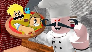 Yummy Chad and Ryan Pizza in Roblox / Escape the Pizzeria Obby / Gamer Chad Plays