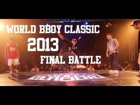 World BBoy Classic 2013 Final - Moy & Luan Vs Tim & F.E.