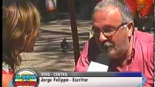 Jorge Felippa presenta trampas de la colmena 05 11 2013