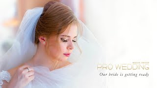 Our bride is getting ready! | Prowedding Media Group