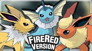 Pokémon FireRed- Como conseguir as três evoluções do eevee