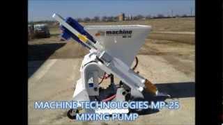 Mp-25 Mixing Pump - Machine Technologies.