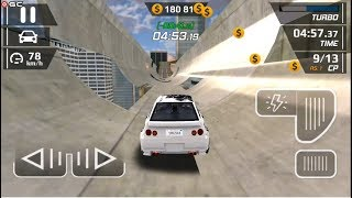 "Smash Car Hit - Impossible Stunt ""Speed Clup"" Speed Car Games - Android gameplay FHD #5"