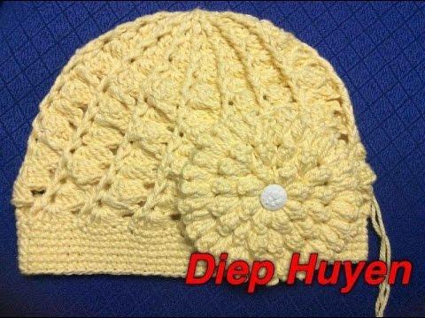 Móc mũ len phần 1  Crochet a hat part 1
