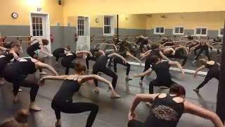 Pro dancers share expertise with local students