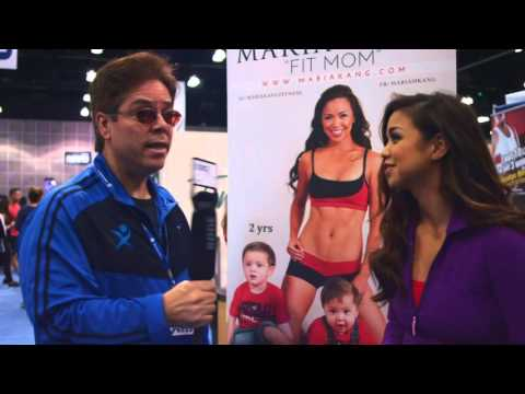 Maria Kang  at the LA Fit Expo 2016 FitnessXtv