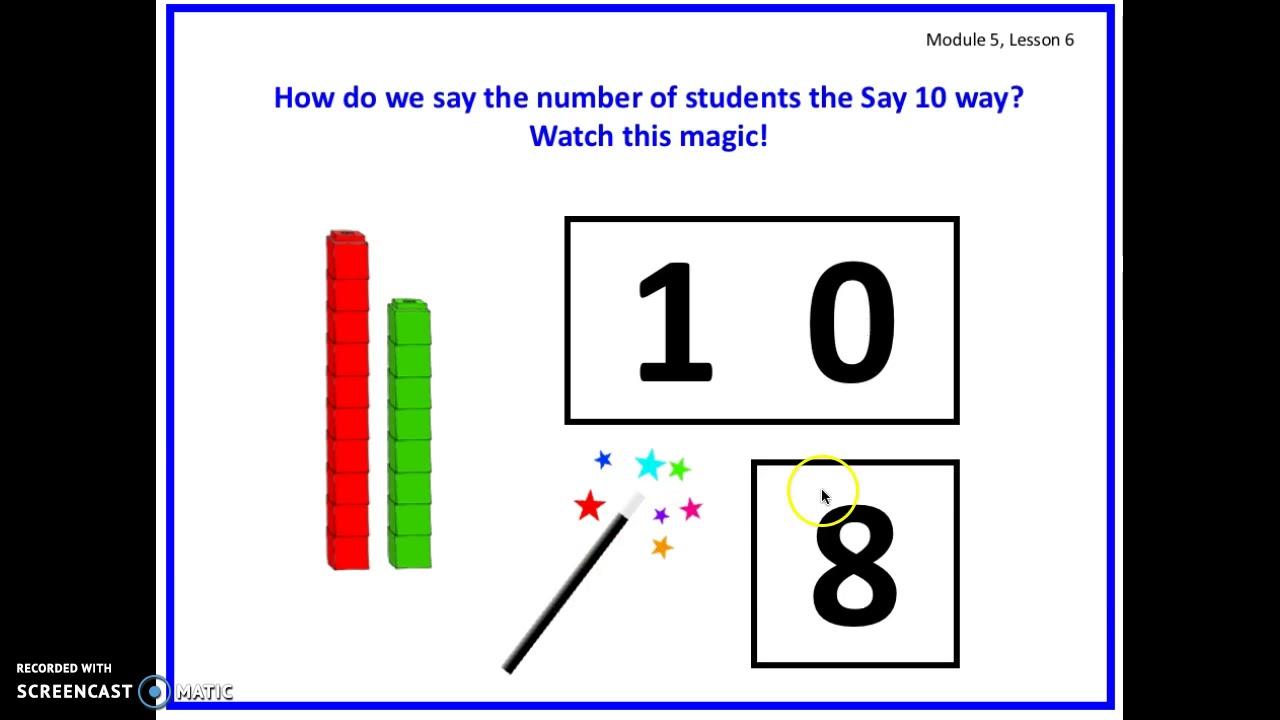 Eureka Math Kindergarten Module 5 Lesson 6
