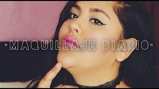 MAQUILLAJE  PARA EL DIARIO // Curvy-PlusSize BEAUTY STYLE.