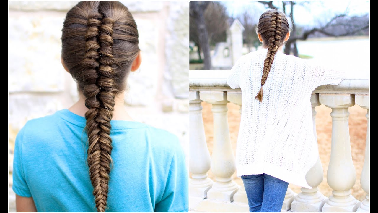infinity braid combo | cute girls hairstyles