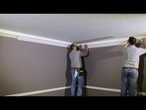 Indirect Lighting Installation With Crownduit
