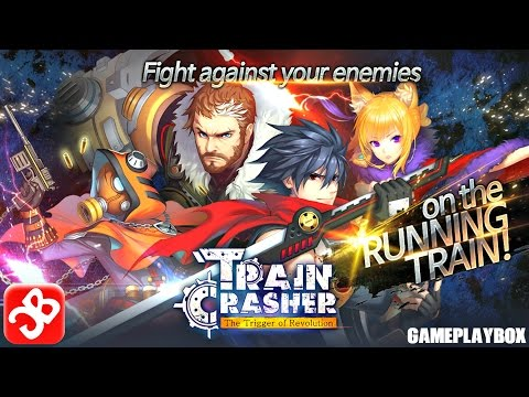 TrainCrasher (By Softmax Co.,Ltd.) - iOS/Android - Gameplay Video - 동영상
