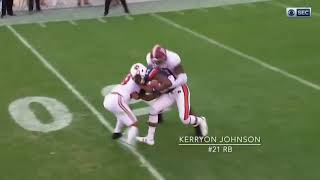 Kerryon Johnson vs Alabama (2017)