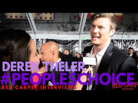 Derek Theler #babydaddy interviewed at the 43rd Annual People