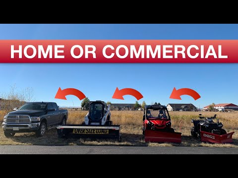 Winter Snow Plowing? Most Used Equipment For Home And Commercial