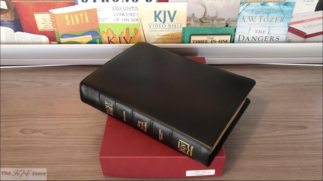 KJV Note Takers Bible - Lambskin Edition