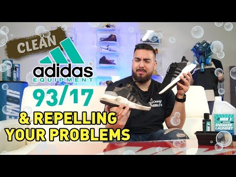 Clean your Adidas EQT 93/17 while repelling your problems away.