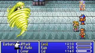 Final Fantasy IV Advance - Bosses Part 2 - User video