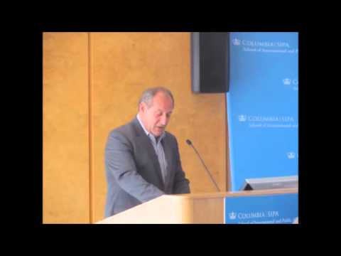 David Phillips at Columbia University, May, 2013