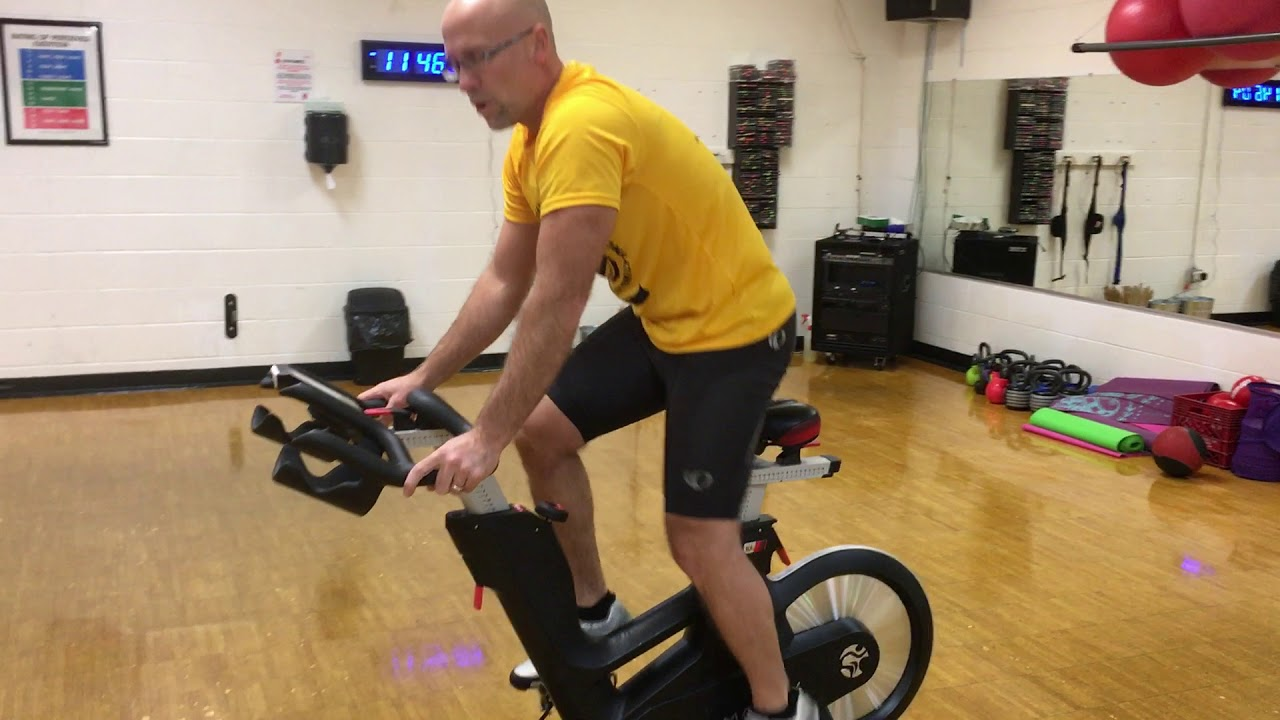 Spin Bike Class Positions #TuesdayTips at the YMCA