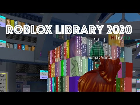 A Library In Roblox Roblox Roblox Library 2020 Youtube