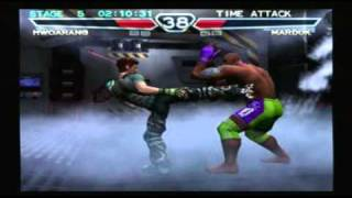 Tekken 4: Time Attack - Hwoarang Playthrough (Request) thumbnail