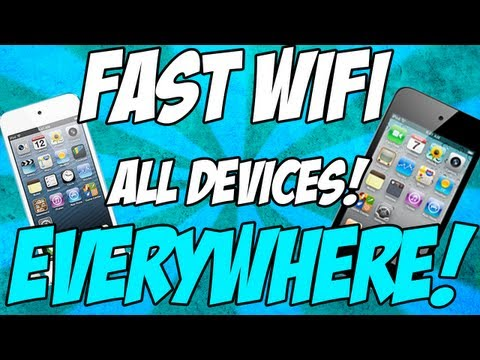 How to get internet/wifi anywhere on iPod Touch (no jailbreak required!)