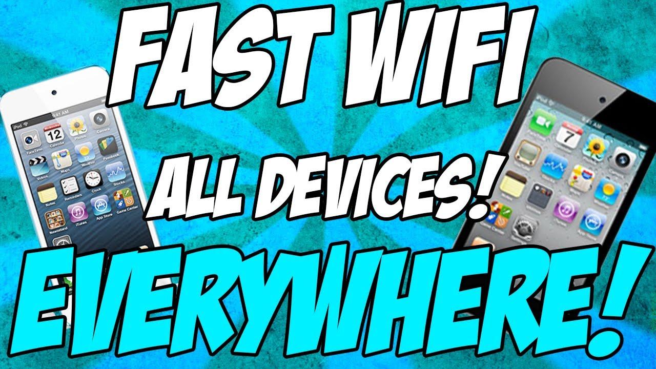 Get free wireless internet anywhere