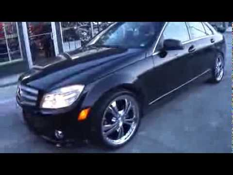 Hillyard custom rim tire 2009 mercedes c250 19 inch chrome for Mercedes benz tires c250