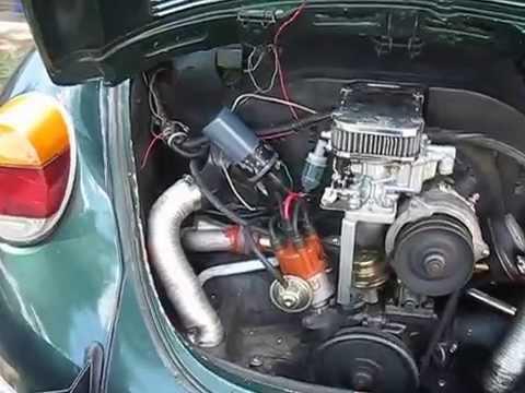 vw two barrel weber carburetor youtube 1961 vw beetle wiring diagram #14