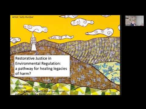 Deb Cleland – Restorative Justice in Environmental Regulation: pathway for healing legacies of harm?