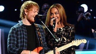 Beyonce FINALLY Grants Ed Sheeran's Wish