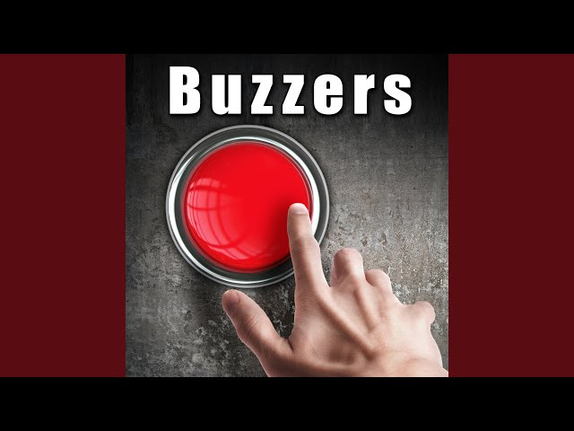 Short Buzz From Game Show Wrong Answer Buzzer - Sound Ideas | Shazam