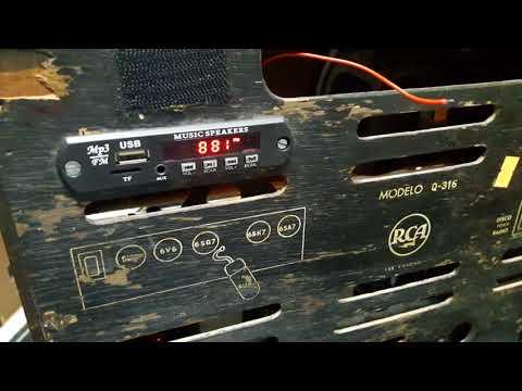 Reparacion y restauracion de radios antiguas a tubo tocadiscos