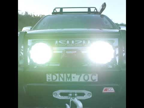 """Get Domin8r X Driving Lights Fitted With Genuine OSRAM LEDs In A 7"""" Size!"""